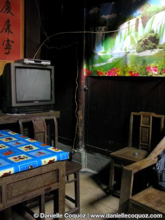 Chine, détails d'intérieurs du Huizhou