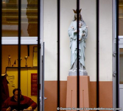 Trophées et statues