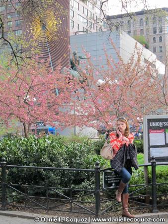 SPRING IN NEW-YORK